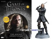 Game Of Thrones Official Collector's Models #03 The Hound Figurine & Magazine Eaglemoss